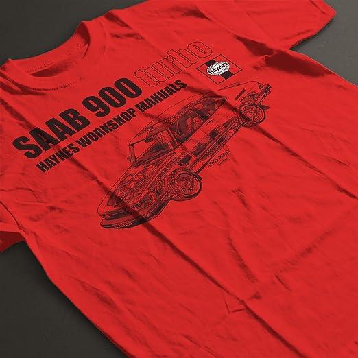 POD66 Haynes Workshop Manual 0765 Saab 900 Turbo Black KidS T-Shirt: Amazon.es: Ropa y accesorios