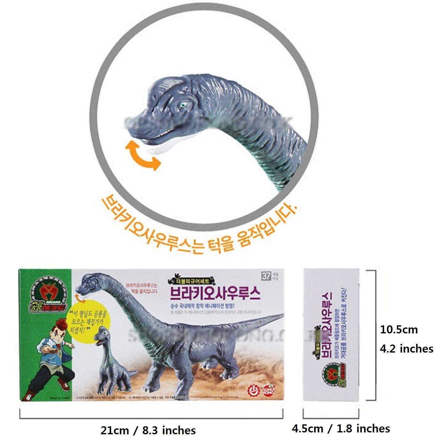 Dino Mecard Double Figure Set Brachiosaurus and Tinysour BRACHIO Sonokong