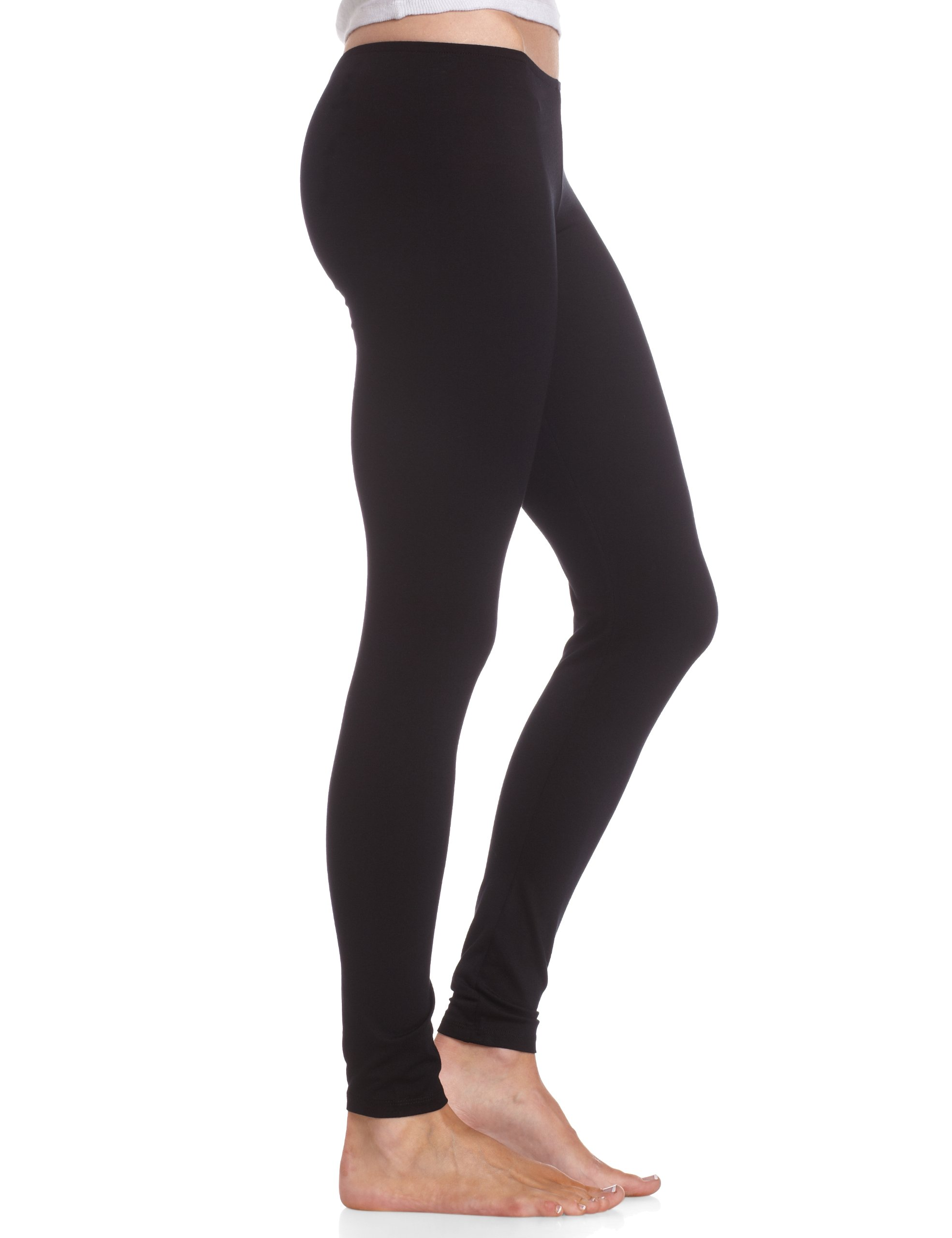 Only Hearts Women's So Fine Legging - 20078,Black,X-Small by Only Hearts (Image #3)