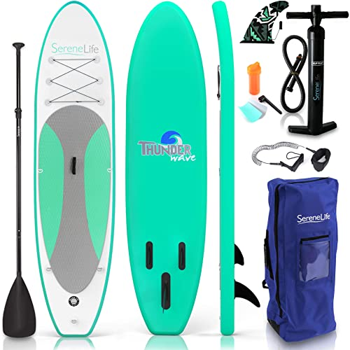 Non-Slip SUP Paddle Board Kayak Hybrid (Standing Boat) [SereneLife] Picture