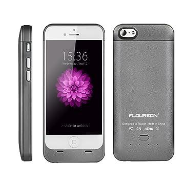 Floureon® GE6 - Funda protectora cargador con batería 3200mAh para iPhone 6 de 4.7