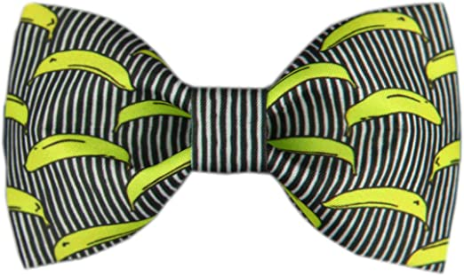 Handmade Formal Pre-Tied Tuxedo Bow Tie for Men-Trippy Music Notes