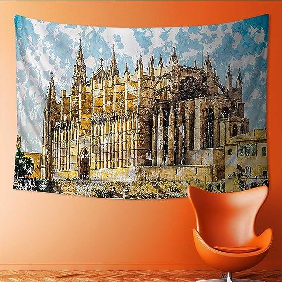Amazon.com: SCOCICI1588 - Tapiz decorativo de pared, diseño ...