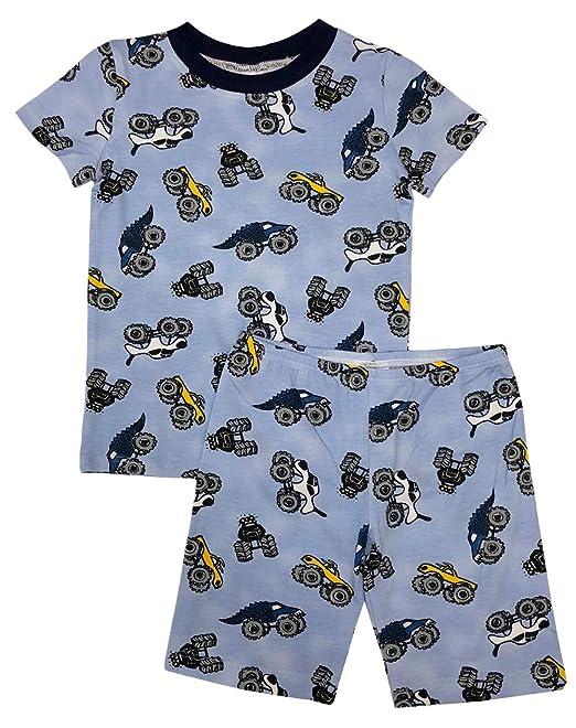 ef8c9bde5 Esme Boys Sleepwear Pajamas Short Sleeve Top   Shorts Set  Amazon.ca ...