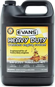EVANS Cooling Systems EC61001 Heavy Duty Waterless Engine Coolant, 128 fl. oz.