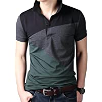 LionRoar Men's Cotton Stylish Polo Neck Half Sleeve T-Shirt