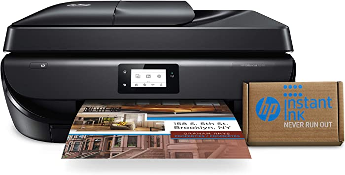HP OfficeJet 5260 Wireless All-in-One Printer – includes 2 Years of InkDelivered to Your Door (Z4B13A)