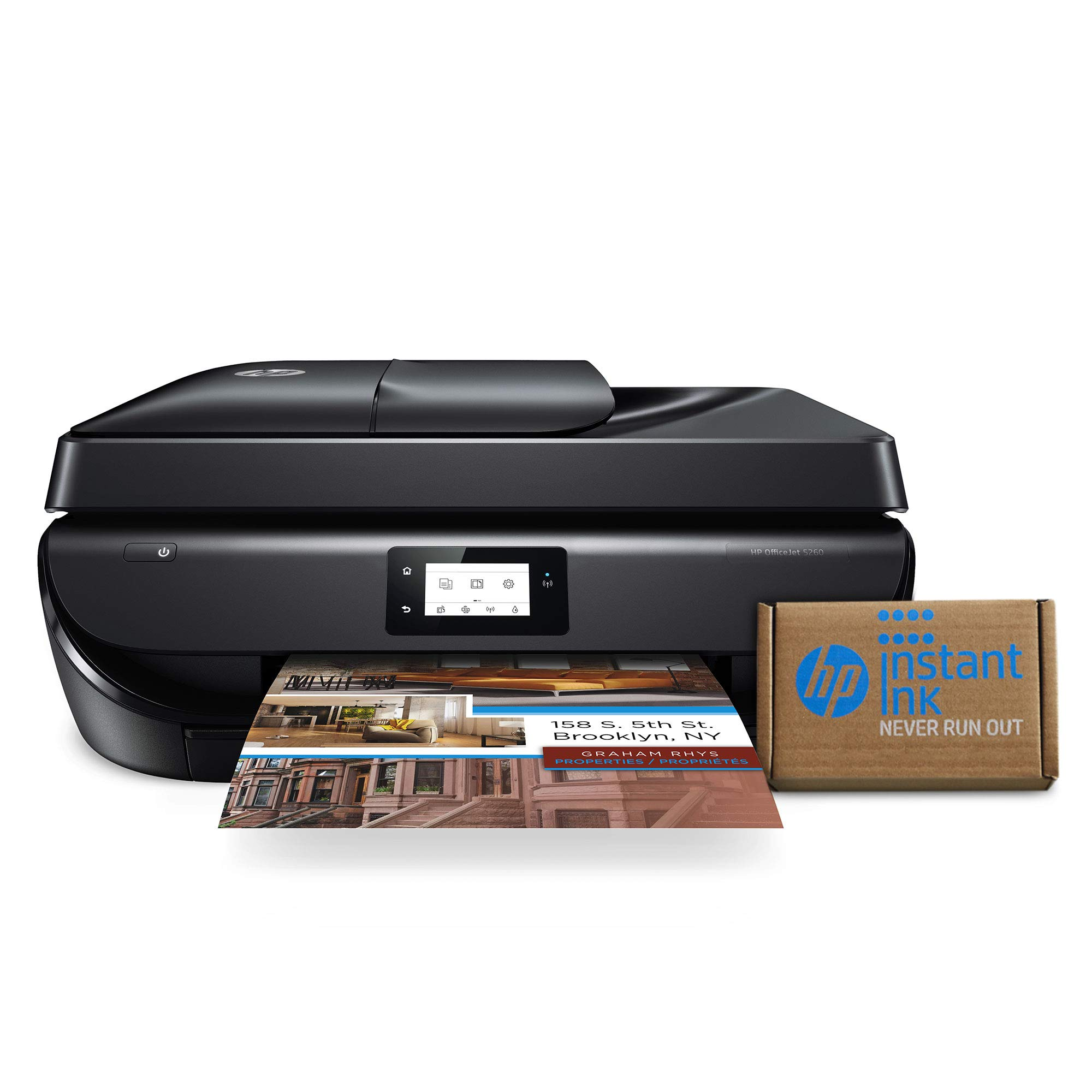 HP OfficeJet 5260 Wireless All-in-One Printer - includes 2 Years of Ink Delivered to Your Door (Z4B13A) by HP