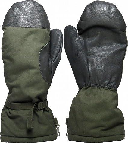 buy online watch good looking Ejército Alemán Número Goretex Con Forro De Piel Artificial Snow  Guantes,Sobre Guantes