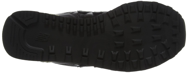 New Balance Sneaker Women's 574 Glitter Punk Sneaker Balance B06XX91DXK 10 B(M) US|Black 0e6d94