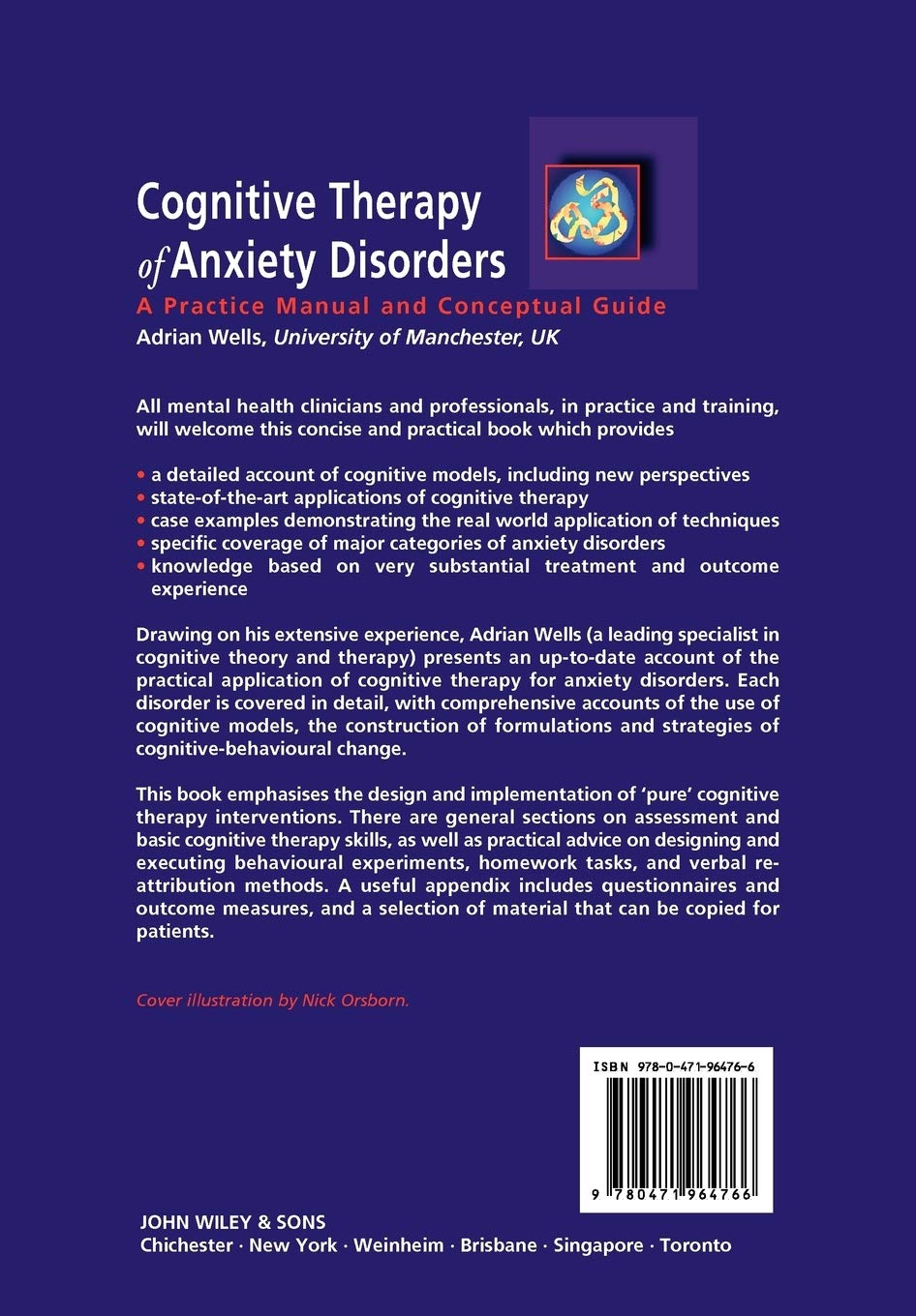 Cognitive Therapy Of Anxiety Disorders A Practical Guide Amazon