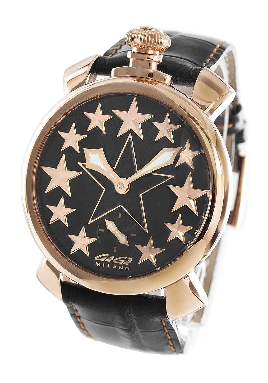 ガガミラノ マヌアーレ48MM スター 腕時計 メンズ GaGa MILANO 5011.STARS.01[並行輸入品] B0759K554F