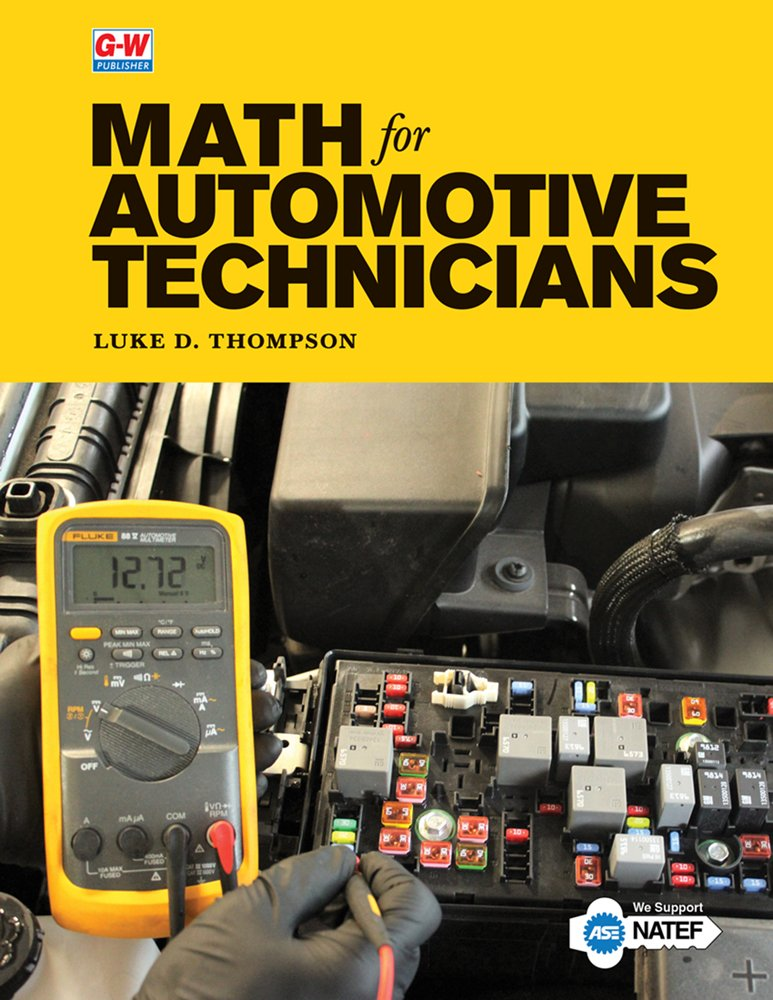 Read Online Math for Automotive Technicians pdf