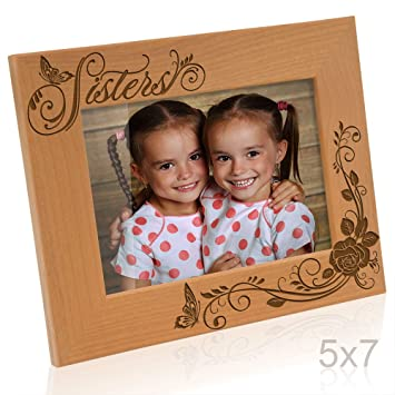 kate posh sisters picture frame 5x7 horizontal