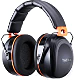 Ear Defenders Adult, Tacklife HNRE1 Noise Canceling Ear Muffs 34dB SNR for Shooting, Construction, Reading or Yard Work