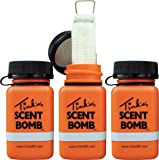 Tink's Scent Bombs | 3 Pack | Deer Hunting Accessories, Fill Buck Bomb with Any Tink's Scent Lures or Deer Attractant…