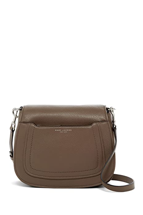 f09a434a357b Marc Jacobs Empire City leather Messenger Crossbody Saddle Bag ...