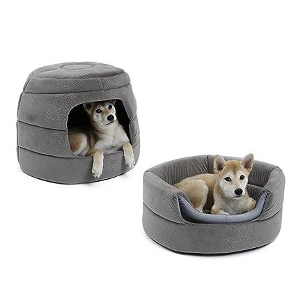 Speedy Pet - Sofá Cama 2 en 1 para Perro, Cama Antideslizante con cojín Desmontable