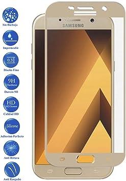 Todotumovil Protector de Pantalla Samsung Galaxy A5 2017 Dorado ...