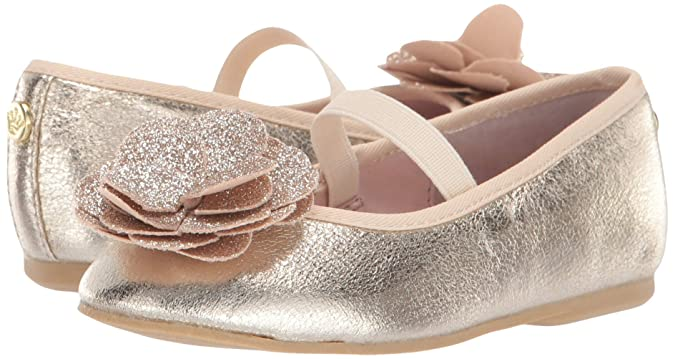 f0e5c76de Amazon.com | NINA Kids' Estela-t Ballet Flat | Flats