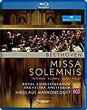 Beethoven: Missa Solemnis [Nikolaus Harnoncourt, Marlis Petersen, Elisabeth Kulman] [C Major: 712704] [Blu-ray] [2013] [Region A & B] [NTSC]