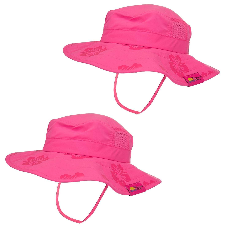 2pk Kids Safari Hat Sun Protective Zone UPF 50+ Child Block UV Rays Shade  938151 813dddccee81