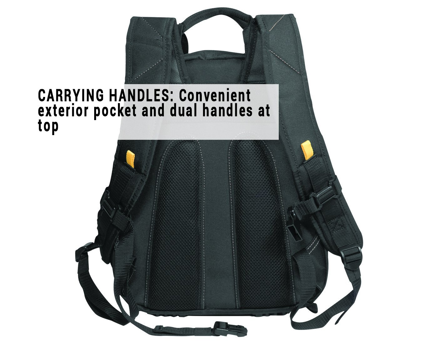 CLC 1134 Carpenter's Tool Backpack with 44 Pockets and Padded Back Support by Custom Leathercraft (Image #5)
