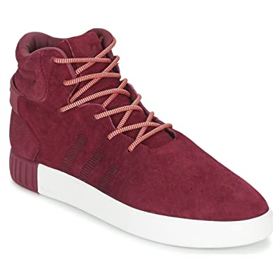 adidas tubular rouge bordeaux