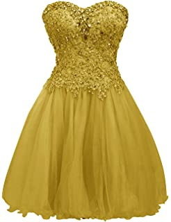 JAEDEN Short Homecoming Dress Cocktail Dresses Lace Party Dress Strapless Prom Dress Sweetheart Homecoming Dresses Ball