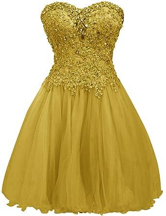 Short Sweetheart Homecoming Dresses