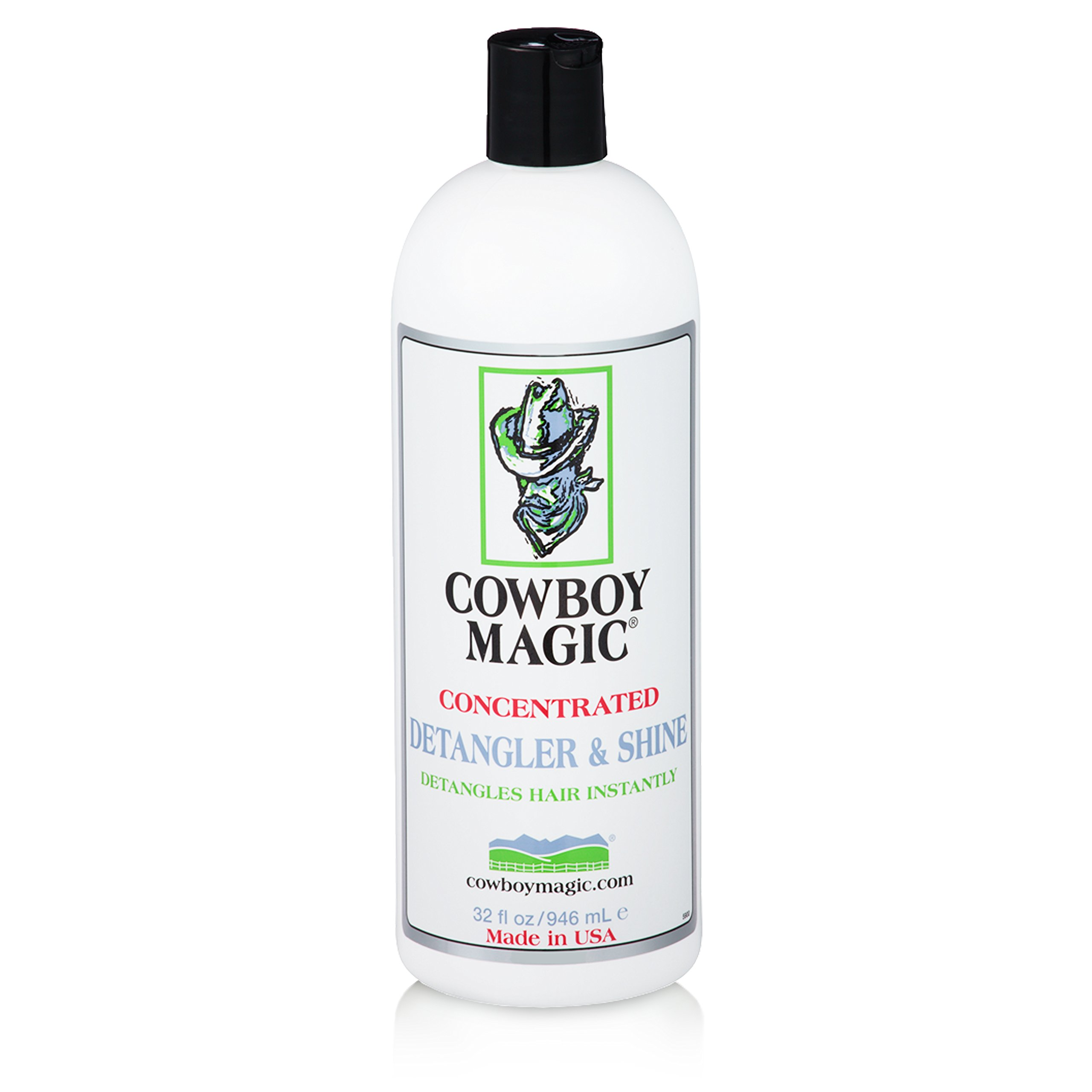Cowboy Magic Concentrated Detangler & Shine 32 Ounce by Cowboy Magic