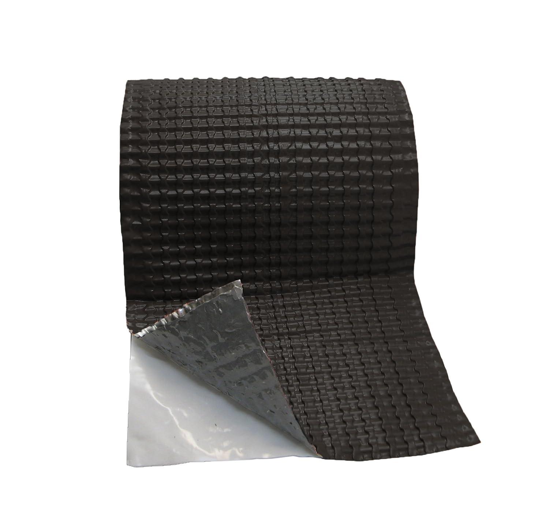 Duroflex 3D color negro 40X500 cm