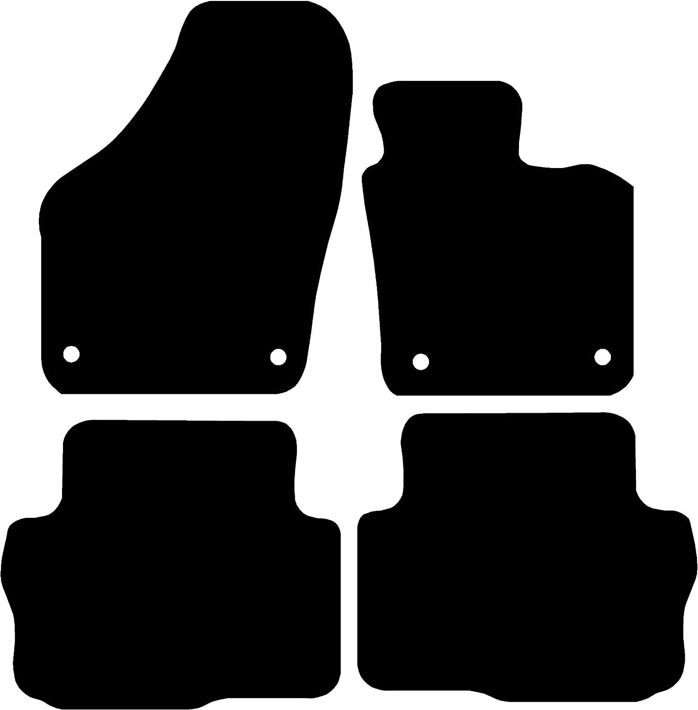 Grey with Grey Trim Connected Essentials CEM650 Car Mat Set for Sharan Premium 1996-2000