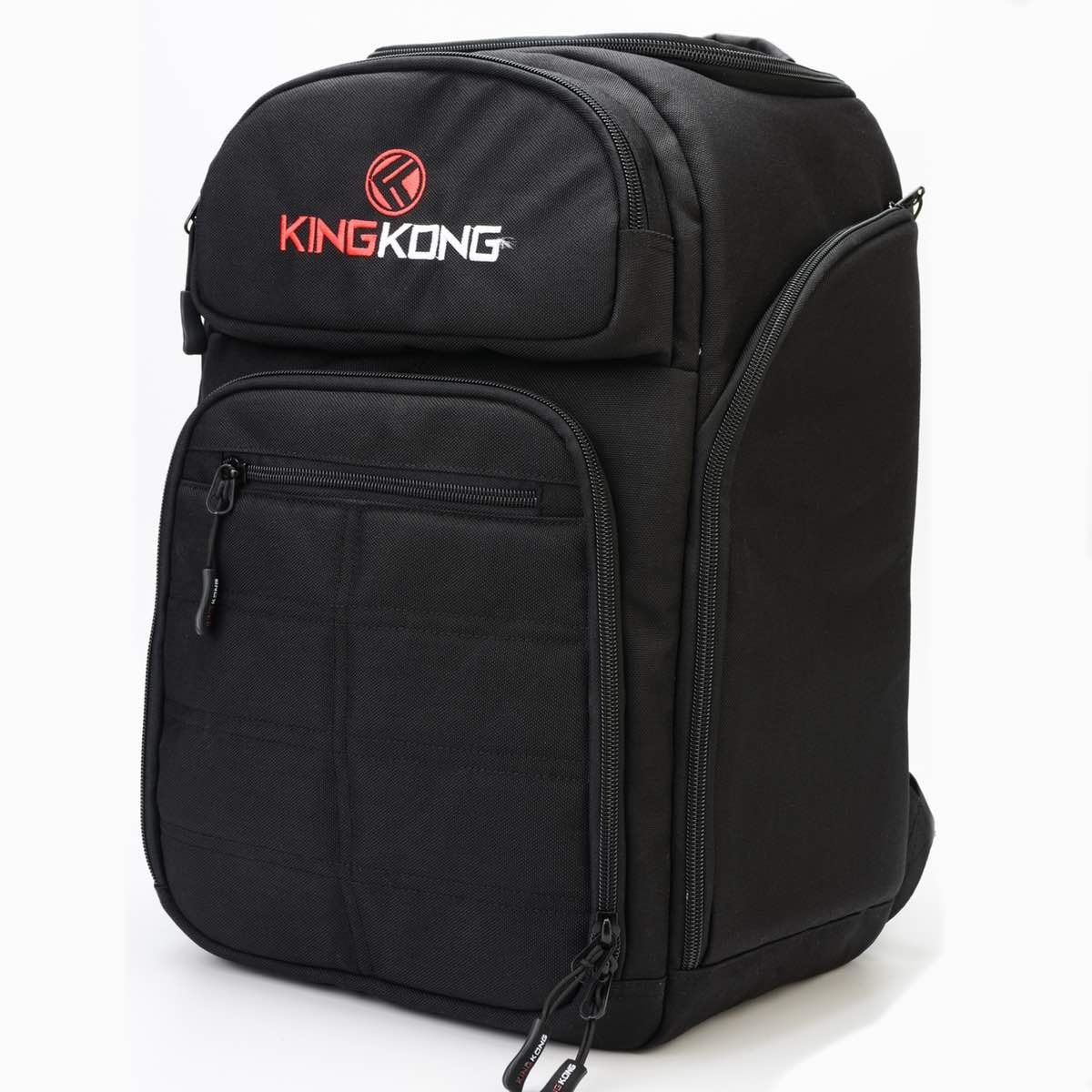 King Kong Fuel Meal Prep Backpack - Insulated Thermal Polyester Lunch Bag, Military Spec Nylon with Two Reusable Ice Packs - Black by King Kong (Image #6)