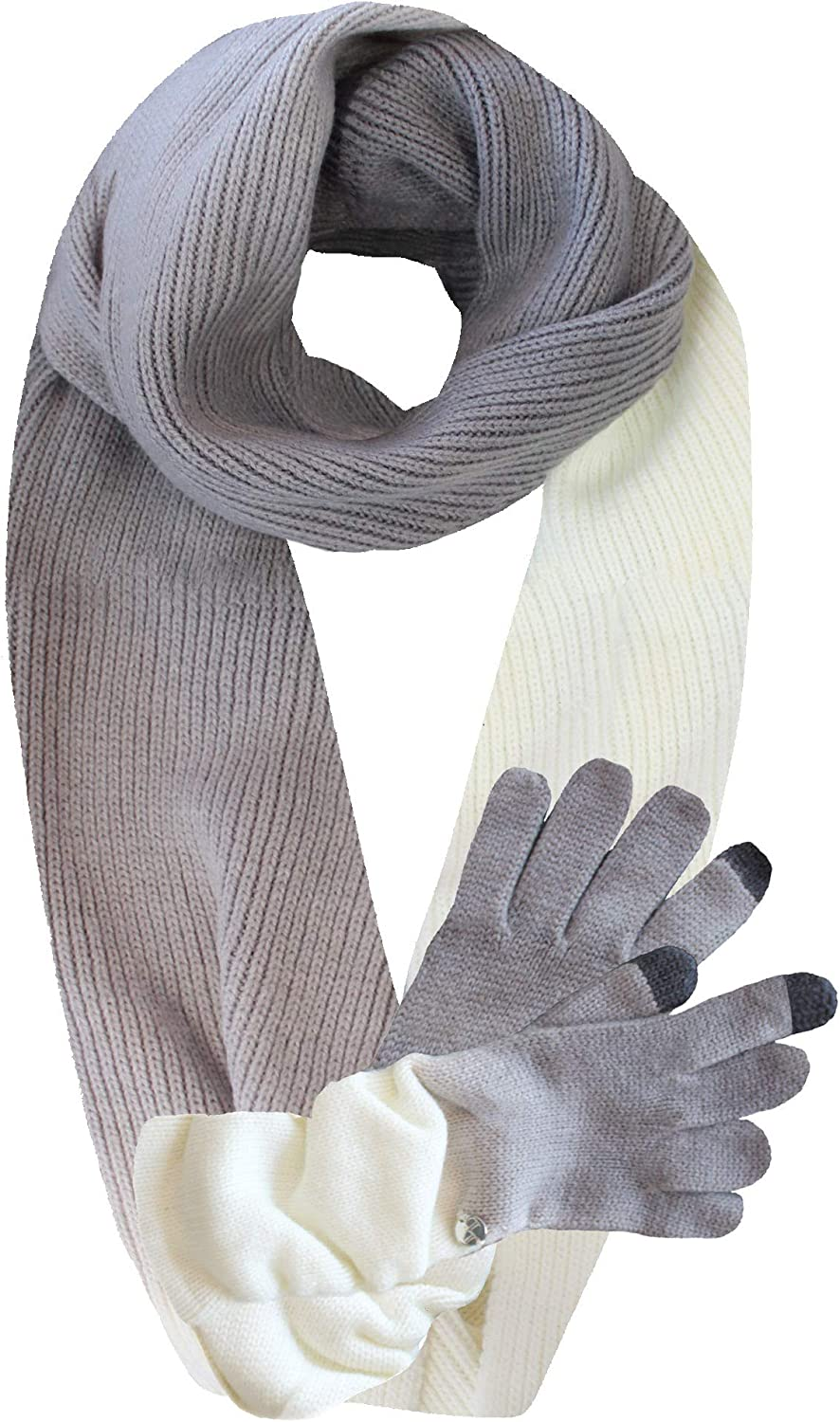 Knit Ombre Texting Gloves...