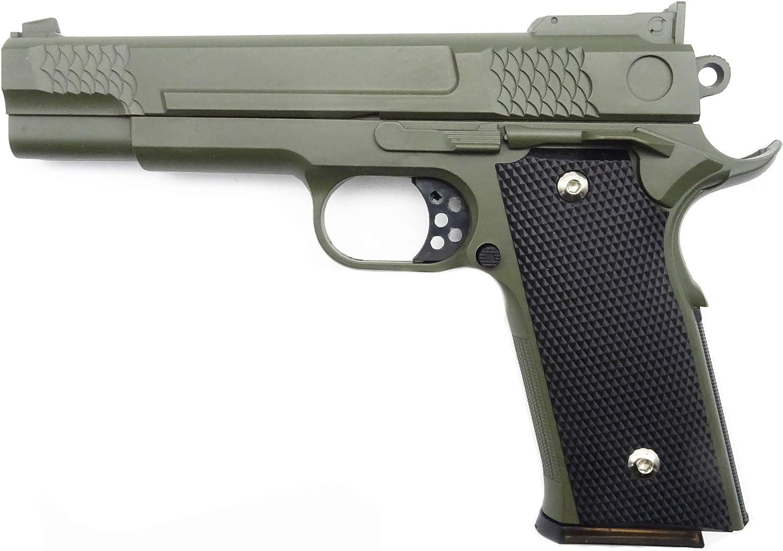 Pistola Airsoft Softair Rayline G20G Full Metal (presión de Resorte Manual), Escala 1: 1, Peso 660g, Longitud 19.5 cm, Bronceado, Menos de 0.5 Julios, a Partir de 14 años