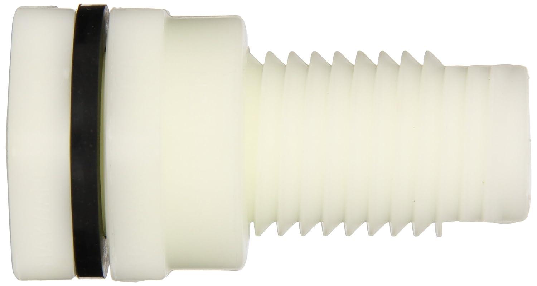 CPVC with EPDM Seals 1 Size Socket x Threaded End Hayward BFAS2010CES Series BFAS Short Pattern Bulkhead Fitting