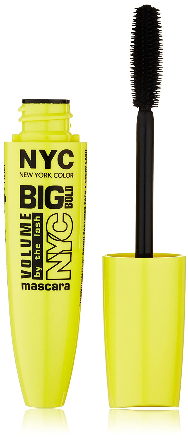 N.Y.C. New York Color Big Bold Volume By the Lash, Black, 0.41 Fluid Ounce Coty 27405120857