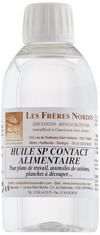 Les Frè res Nordin 150286 Huile SP Contact Alimentaire Les frères Nordin