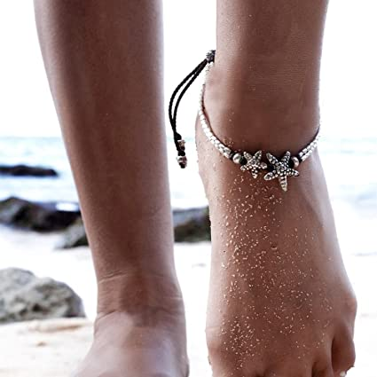 wraped ankle sale with sandals for foot slavebraceletandmore x barefoot anklet high bracelets jewelry bridal pin string pearl tra off white