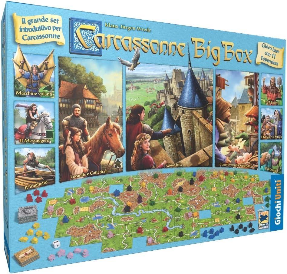 Giochi Uniti Carcassonne Big Box edición 2017, GU572 , color/modelo surtido: Amazon.es: Juguetes y juegos