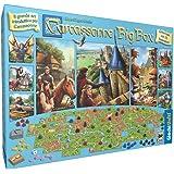 Unbekannt Giochi Uniti gu572–Carcassonne Big Box Edition 2017