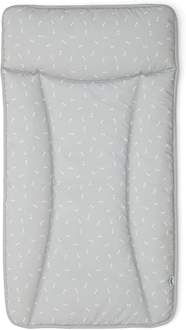 Kids Baby Changing Mat with Grey Stars Themed Suitable from Birth Wipe Clean