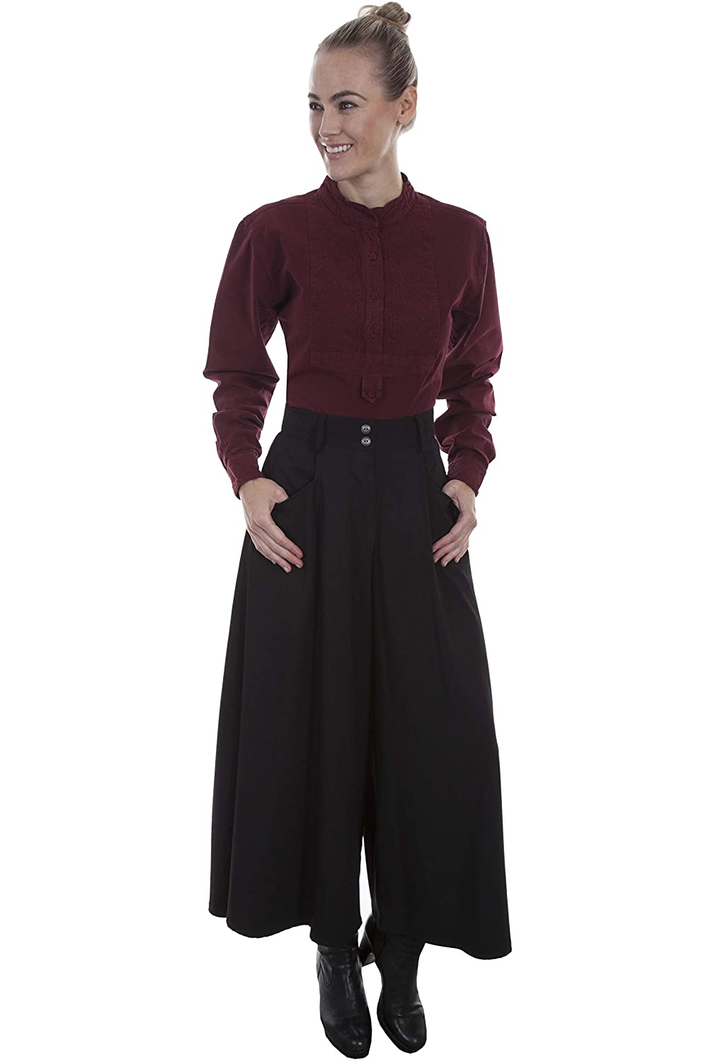 Victorian Clothing, Costumes & 1800s Fashion Scully Womens Sueded Riding Skirt  AT vintagedancer.com