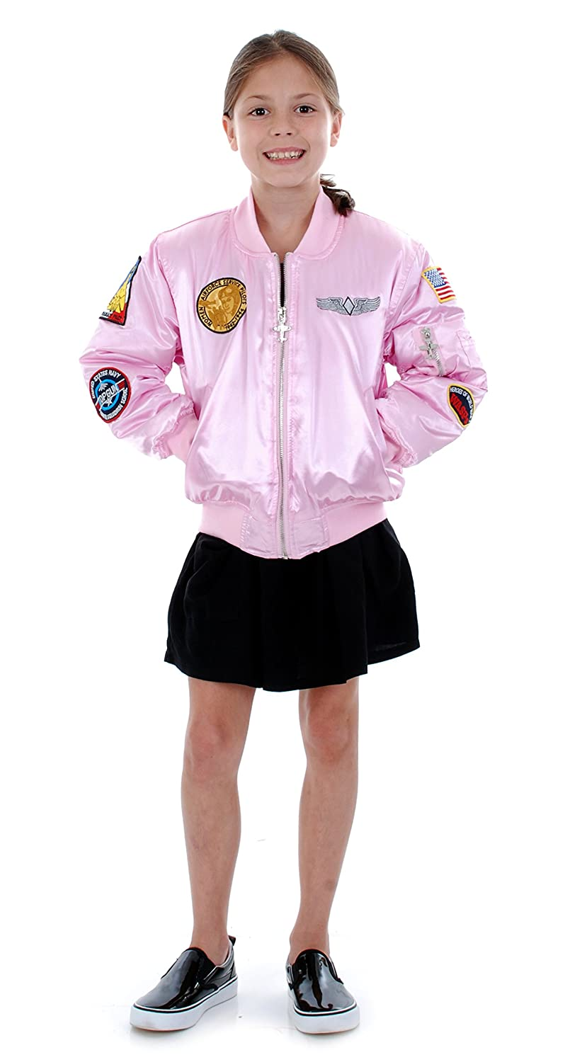 Amazon.com: Up and Away Girls' MA-1 Flight Jacket: Clothing