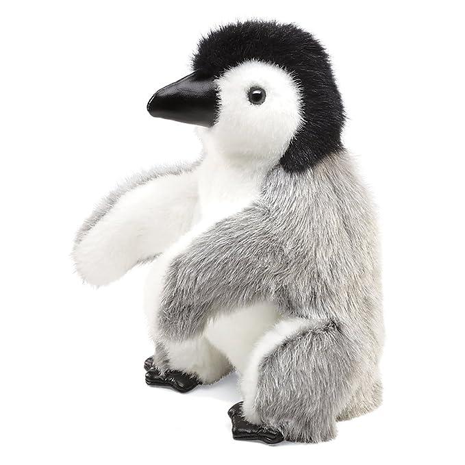Baby Emperor Penguin Hand Puppet