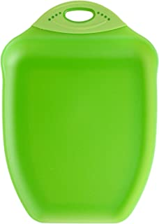 product image for Dexas Chop & Scoop Cutting Board, 9.5 by 13 inches, Green