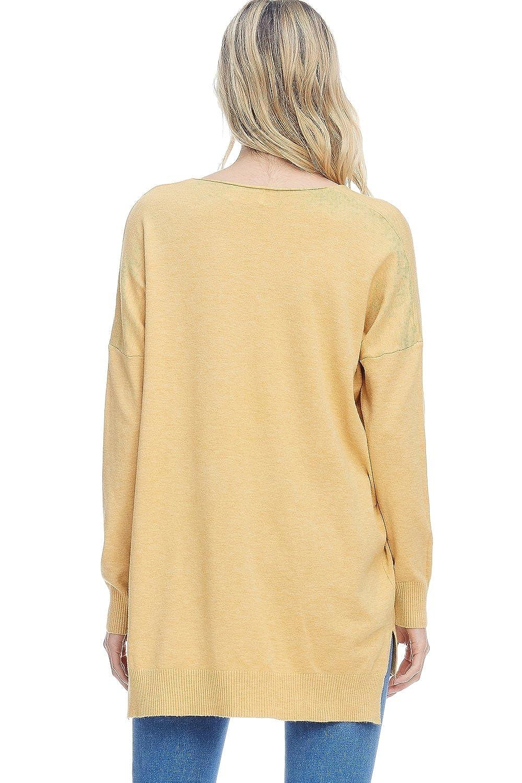 Amazon.com: Sudadera con cuello en V, grande, para mujer ...