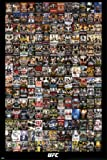 Amazon Price History for:UFC Events Collage Sports Poster 24x36