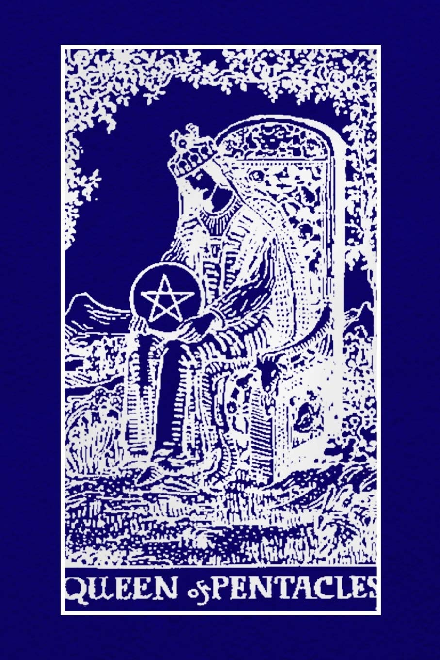 Queen of Pentacles: Tarot Journal Diary Log Book, Record and